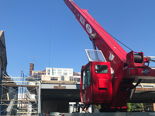 Crane Rental in Bay City - 38 Ton Truck Crane